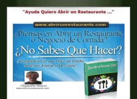 quieroabrirunrestaurante.com