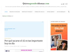 quieroaprenderidiomas.com
