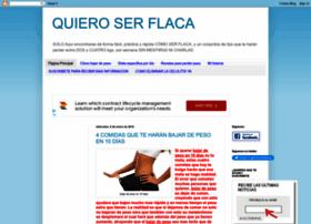 quieroserflacarapido.blogspot.com