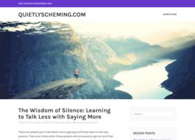 quietlyscheming.com