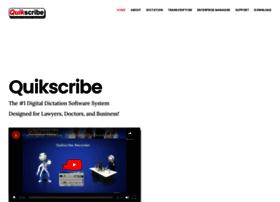 quikscribe.com