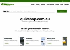 quikshop.com.au