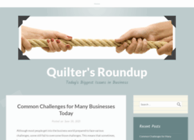 quiltersroundup.com