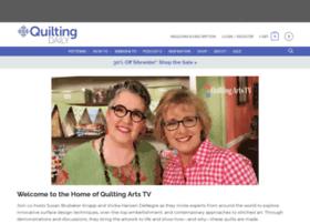 quiltingartstv.com
