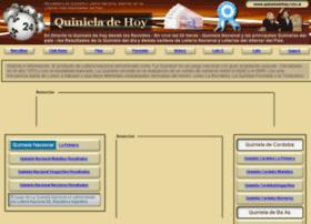 quinieladehoy.com.ar