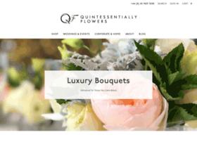 quintessentiallyflowers.com
