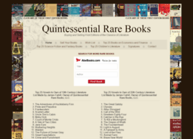 quintessentialrarebooks.com