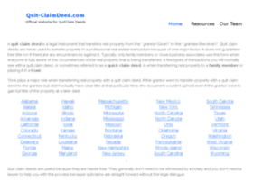 quit-claimdeed.com