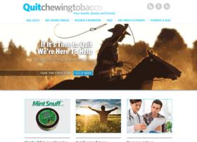 quitchewingtobacco.com