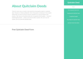 quitclaimdeed.com