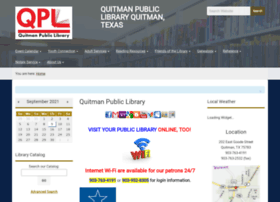 quitmanlibrary.org