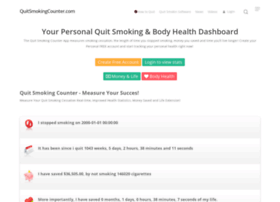 quitsmokingcounter.com