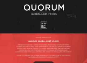quorumgloballgbtvoices.splashthat.com