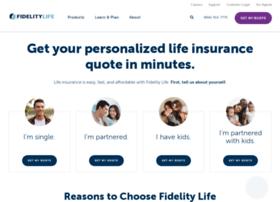 quote.fidelitylife.com