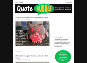 quotebubble.com