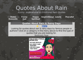 quotesaboutrain.com