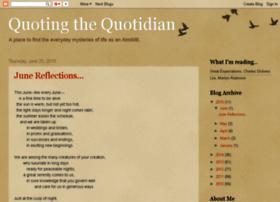 quotingthequotidian.blogspot.com