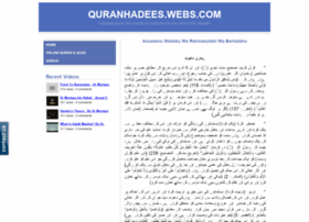 quranhadees.webs.com