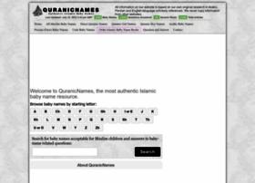quranicnames.com