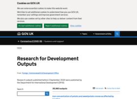 r4d.dfid.gov.uk