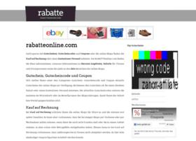 rabatteonline.com
