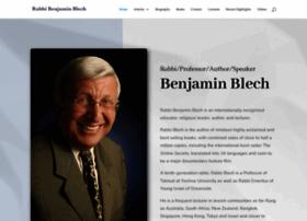 rabbibenjaminblech.com