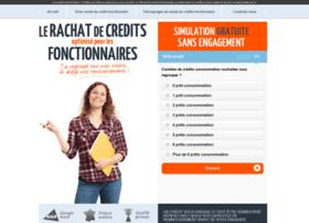 rachat-credit-fonctionnaires.com