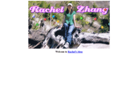 rachelzhang.com