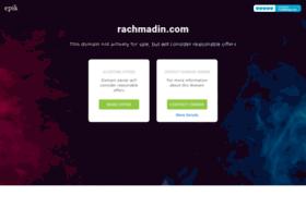 rachmadin.com