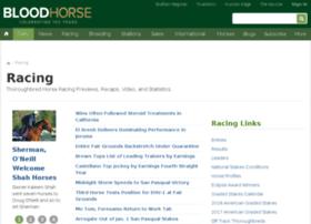 racing.bloodhorse.com