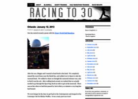 racingtothirty.wordpress.com