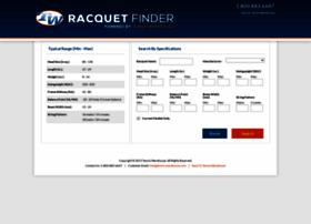 racquetfinder.com