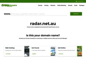 radar.net.au