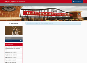 radfordactivities.universitytickets.com