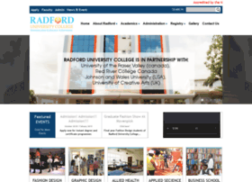 radforduc.edu.gh