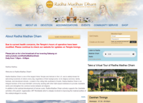 radhamadhavdham.org