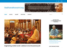 radhanathswami.org