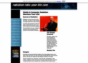 radiation-robs-your-life.com