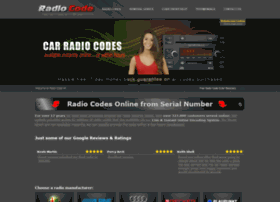 radio-code.co.uk