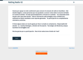 radio.questionpro.com