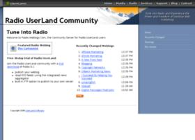 radio.weblogs.com