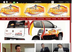 radioaruana.com.br