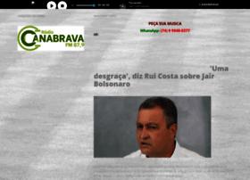 radiocanabrava.com.br