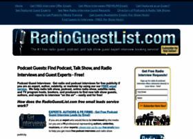radioguestlist.com