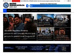 radiohuancavilca.com.ec