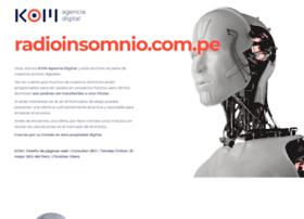 radioinsomnio.com.pe