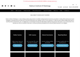radiologycourses.org