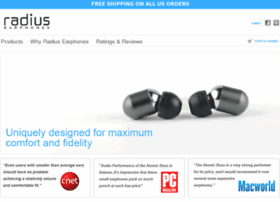radiusearphones.com