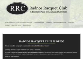 radnorracquetclub.com