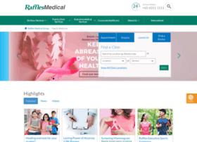 rafflesmedical.com
